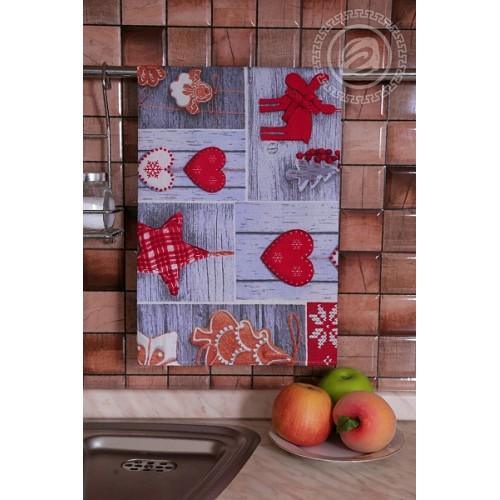 Набор полотенец кухонных Чудеса АртДизайн 3 шт 45*60