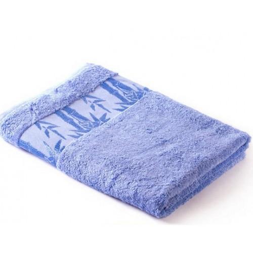 Полотенце Экотекс Бамбук 40*70 голубой (Cornflow Blue) Индия
