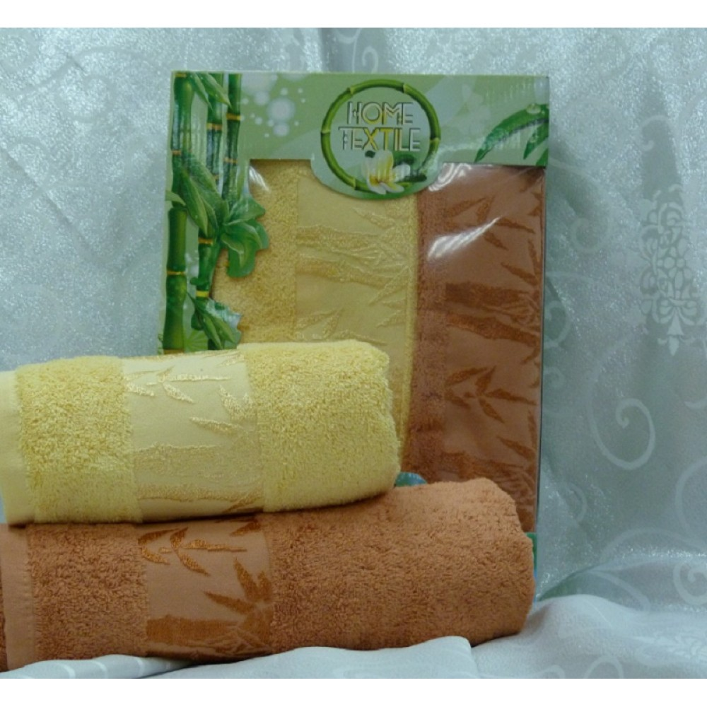 Набор Spaollo  Бамбук 50*90 (2шт) желтый+манго