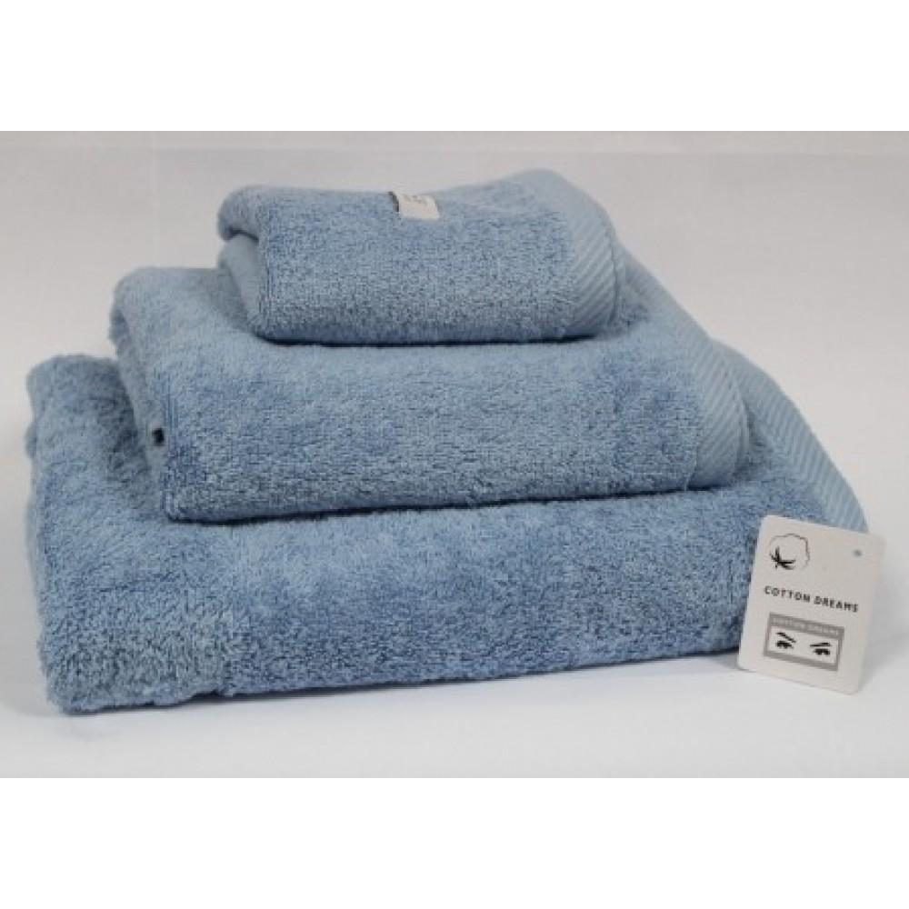 Полотенце B.N. Франция 50*100  1 BLUE - голубой