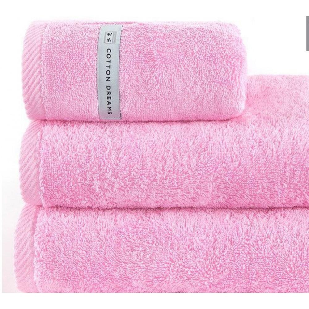 Полотенце B.N. Франция 70*140 13 CRYSTAL PINK - розовый