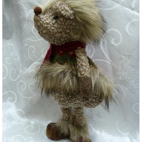 Декор Игрушка Ёжик 40 см текстильные материалы