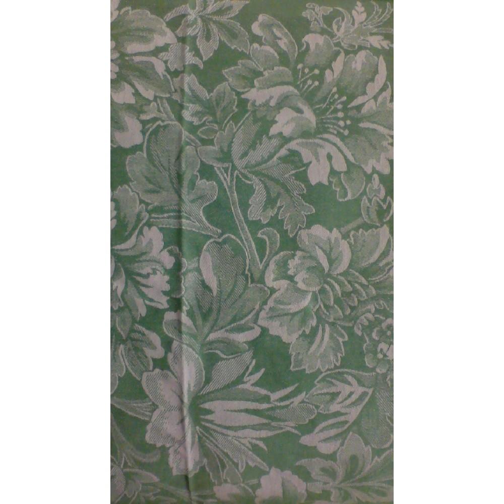 Полотенце  кухонное Яковлевский Лён 50*70 Цветы зеленый хлопок 100%