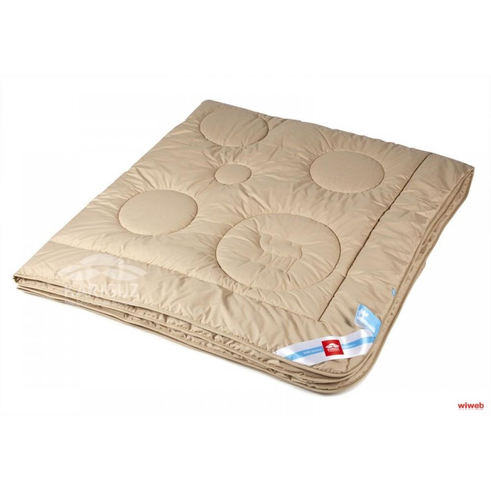 Одеяло Каригуз Чистый верблюд (всесезон) ЕВРО 200*220