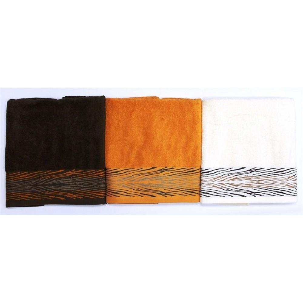 Полотенце махровое Сафари 50*90(1) 100%хл в тубе Sunvim
