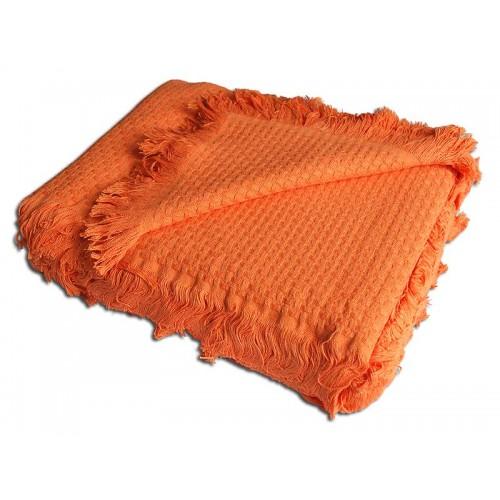 Плед Buddemeyer 220*250 1536 оранжевый