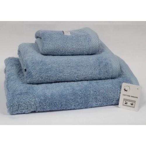 Полотенце B.N. Франция 70*140  1 BLUE - голубой
