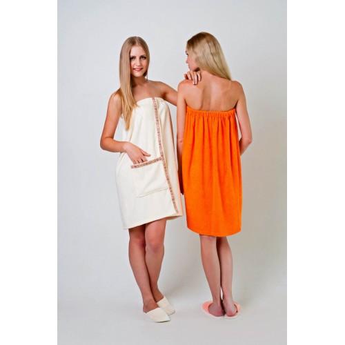 Полотенце-накидка Ду женская Белый