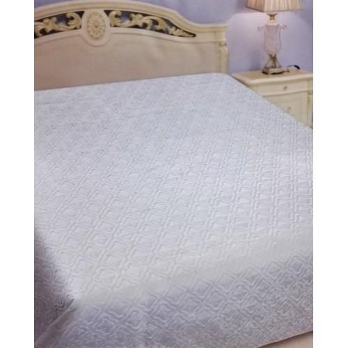 Покрывало Текстильщик Blumarine 230*250 исскуственный сатин-жаккард однотонный