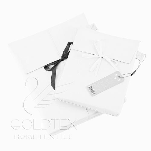 Пододеяльник GOLDTEX Cambrai Евро Жемчуг (белый) 200*220 батист