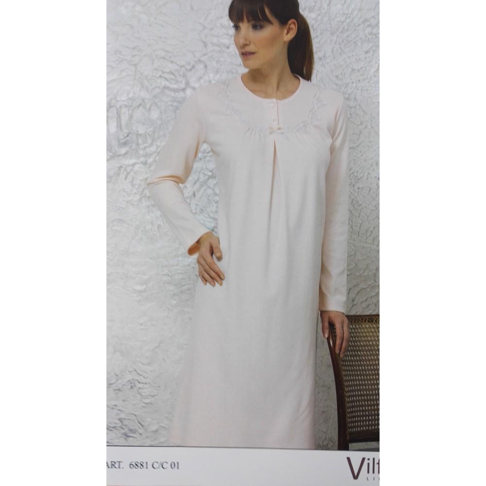 ИталТекс Сорочка Vilfram 6881 р.52 дл.рук. молочный