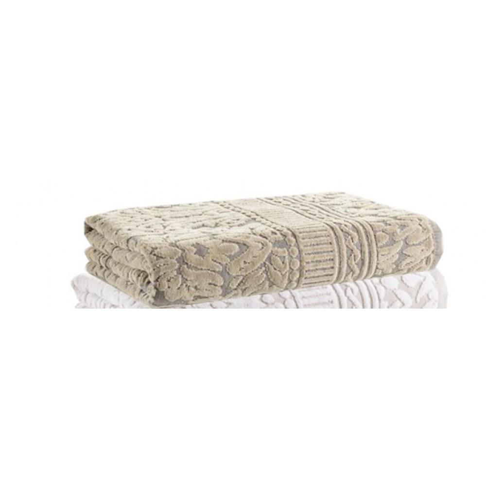 Полотенце Buddemeyer Saint Andrews 30*50 0002 серый/коричневый