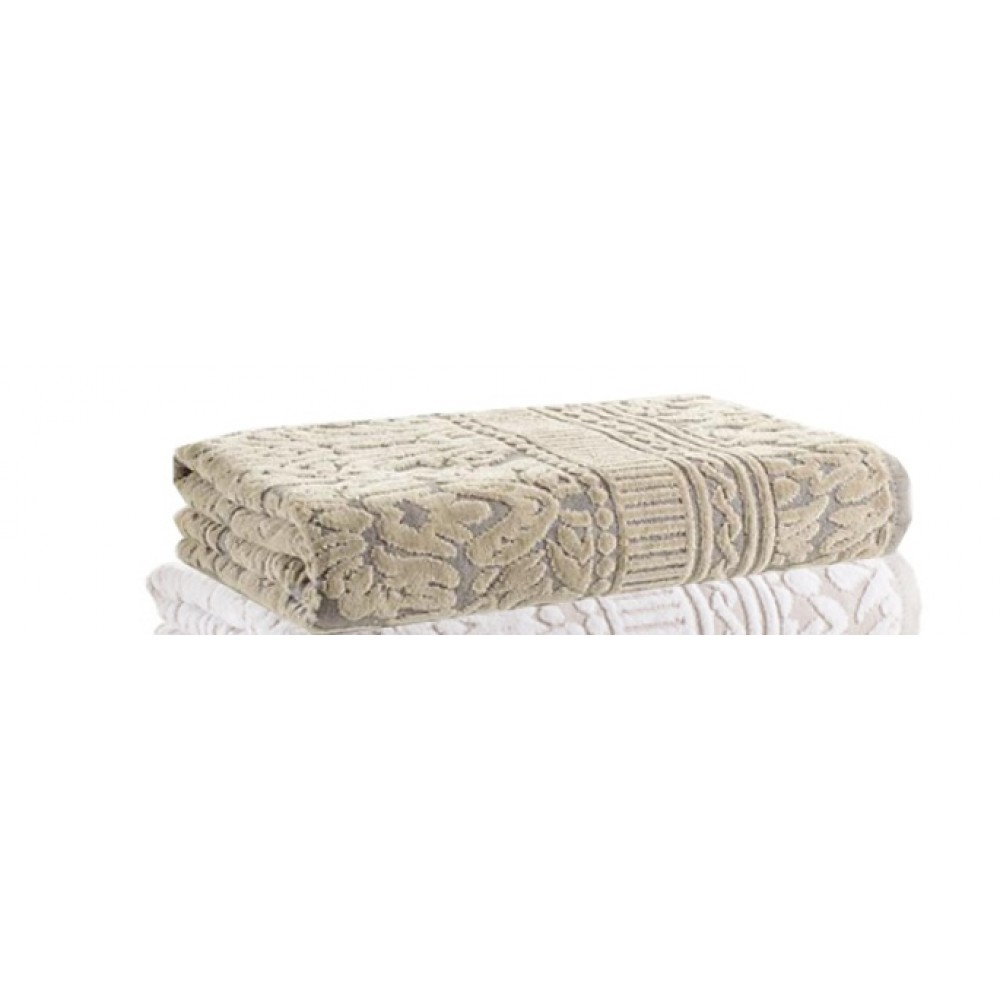 Полотенце Buddemeyer Saint Andrews 50*90 0002 серый/коричневый